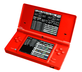 DSi with Rhythm Core Alpha